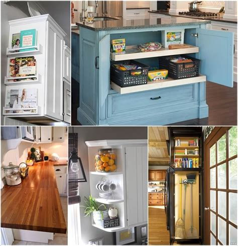 Clever Kitchen Ideas by Clever Kitchen End Of Cabinet Storage Ideas