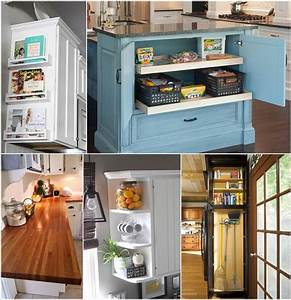 Clever, Kitchen, End, Of, Cabinet, Storage, Ideas