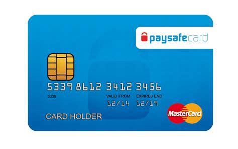paysafe mastercard kreditkarte prepaid kreditkarten