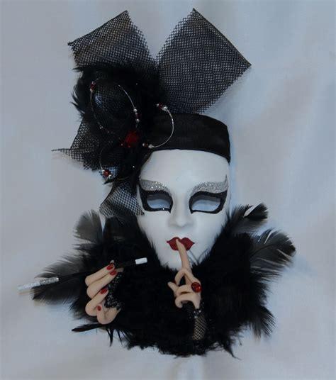 Zamaskowana: Maska wenecka Carnival Lady