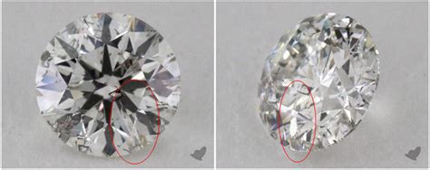Worst Positions For Diamond Inclusions [with Photographs. Hot Anklet. Art Nouveau Engagement Rings. Rihanna Earrings. Bib Necklace. Herringbone Necklace. Rectangle Pendant. Diamond Baguette Pendant. Bangle Display