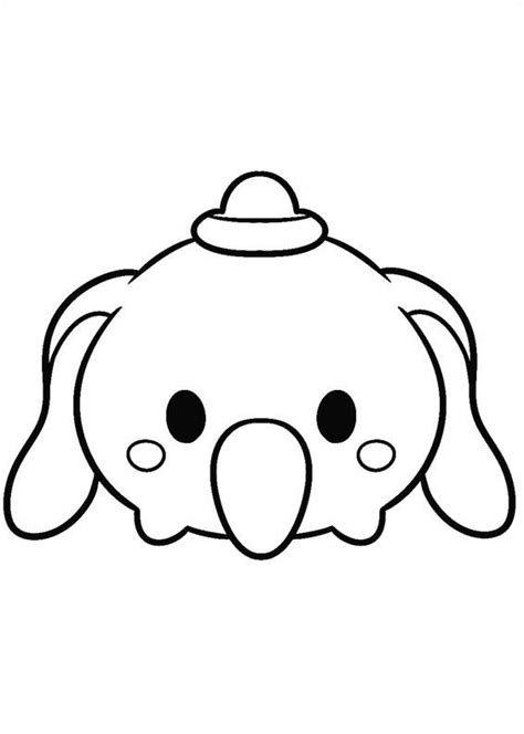 kids  funcom  coloring pages  tsum tsum