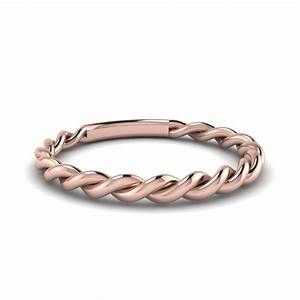 twisted rope wedding band in 18k rose gold fascinating With twisted wedding rings