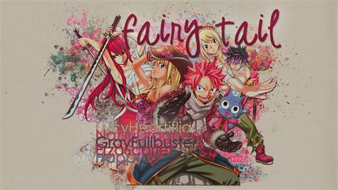 happy fairy tail wallpapers  full hd p