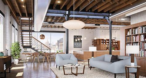 cuisine retro chic style industriel pour un loft moderne de ville design feria