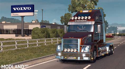 volvo truck dealer volvo vnl670 v 1 4 2 only for ats v1 3 mod for american