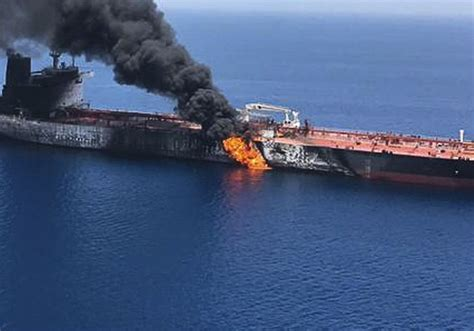iran suspected  attacking  oil tankers   gulf