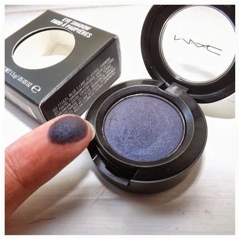 mac contrast shadow gorgeous purple toned blue