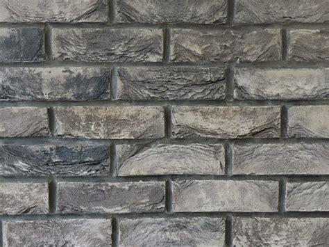 grey brick wall tiles slate grey 2 5 quot hand made brick slips brick wall tiles warwick reclamation