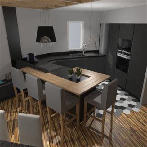 mod鑞e cuisine moderne cuisine grise et bois cuisine gris et bois en 50 mod les vari s pour tous les cuisine am nag e grise et bois avec lot cuisine gris et bois en