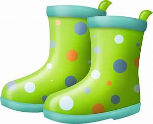 Green clipart rain boot - Pencil and in color green ...