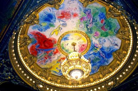 plafond de marc chagall picture of palais garnier