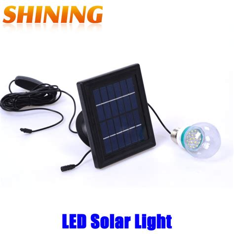 outdoor indoor solar power led lighting system solar light