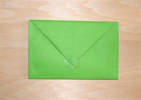 brief falten kleiner umschlag briefumschlag falten 3 einfache schnelle ideen diy