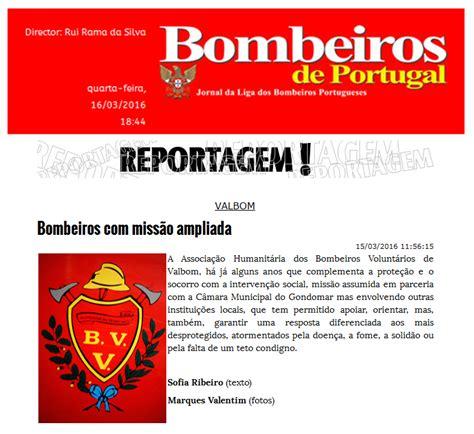 Ah Bombeiros Voluntários De Valbom Bombeiros Em MissÃo