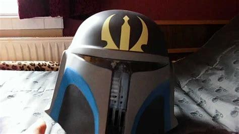star wars pre vizsla costume youtube