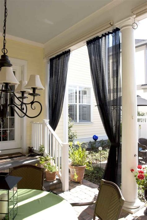screenporchcurtains mosquito netting curtains