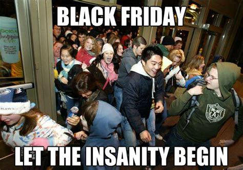 Black Friday Shopping Meme - hackman s musings defending black friday