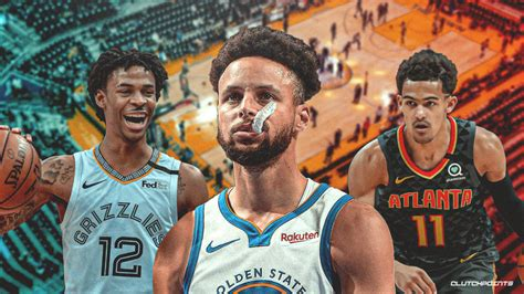 Warriors news: Trae Young, Ja Morant react to Steph Curry ...