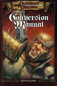 Conversion Manual Exc   D U0026d Dungeons Dragons Tsr Ad U0026d
