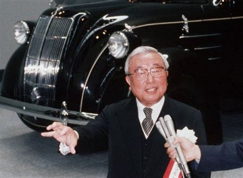 Il fit rayonner Toyota sur le monde automobile : Eiji ...