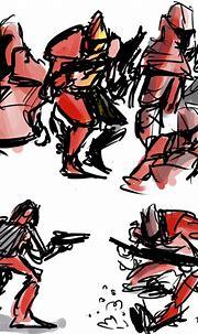 Crusader No Remorse, sketch 9 by Ayej on DeviantArt