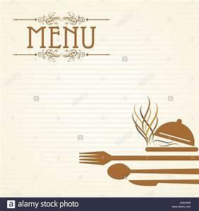 Abendessen Auf Englisch : illustration der vorlage f r die men karte mit besteck vektor abbildung bild 116582035 alamy ~ Somuchworld.com Haus und Dekorationen