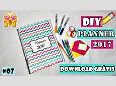 DIY Planner 2017 Download Grátis YouTube