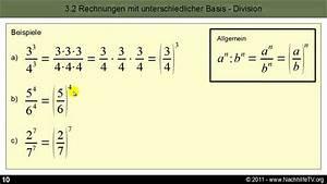 Hochzahlen Berechnen : potenzgesetze rechnen mit potenzen f r anf nger youtube ~ Themetempest.com Abrechnung