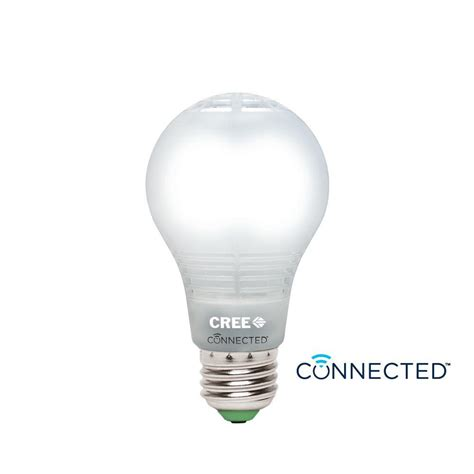 cree led light bulbs cree connected 60w equivalent daylight a19 dimmable led