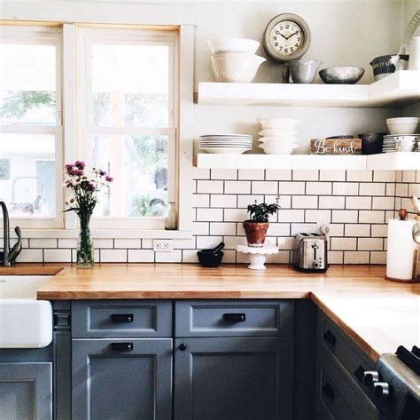 kitchen ideas for small kitchens with island 23 best cottage kitchen decorating ideas and designs for 2018