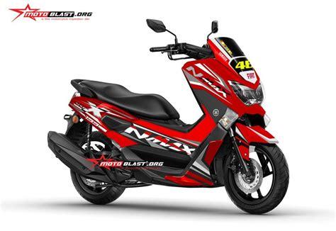 Modifikasi Stiker Yamaha Nmax by Modifikasi Nmax Grey Fresh Motoblast