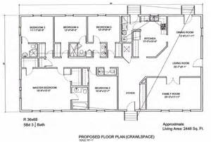 5 bedroom floor plans ameripanel homes of south carolina ranch floor plans