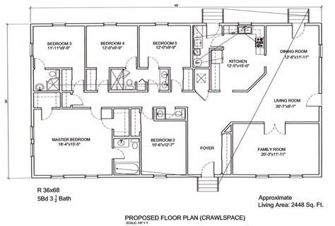 ameripanel homes  south carolina ranch floor plans