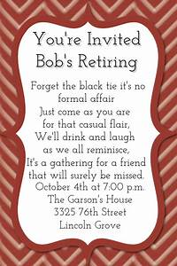 Retirement Party Program Template Small Business Retirement Dinner Picnic Party Invitation