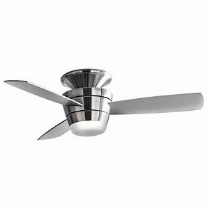 Allen roth quot mazon brushed steel ceiling fan at