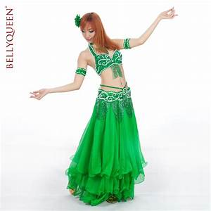 5 pieces Performance Dancewear Polyester Belly Dance ...