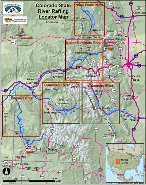 Map River Numbers Arkansas