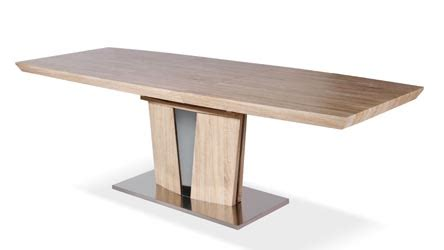 table a manger modulable lenora dining table zuri furniture