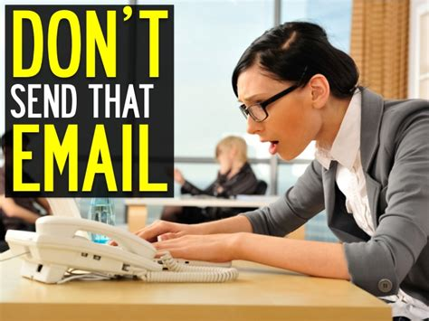 Don T Send A Resume by Don T Send That Email