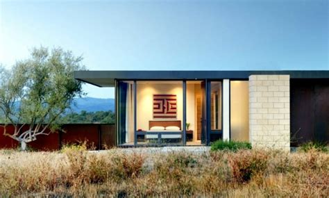 flat roof cottage style house design combined  modern architecture interior design ideas