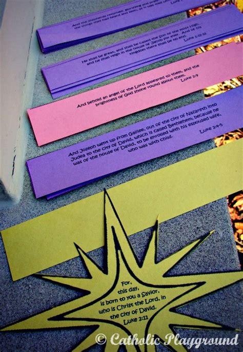 paper chain advent calendar catholic playground