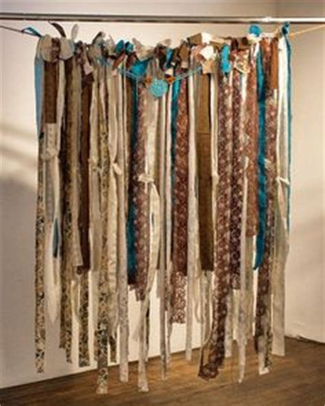 1000 images about torn fabric curtains on