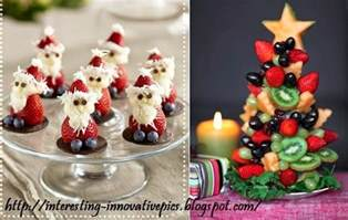 creative christmas decorating ideas with fruits interestings