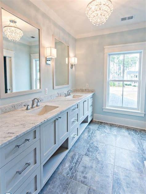 29 Popular Light Blue Bathroom Floor Tiles