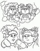 Cabbage Patch Coloring Colouring Clipart Silhouette Sheets Cabage Dolls Line Clip Popular Colour Getdrawings Library Clipground Coloringhome sketch template