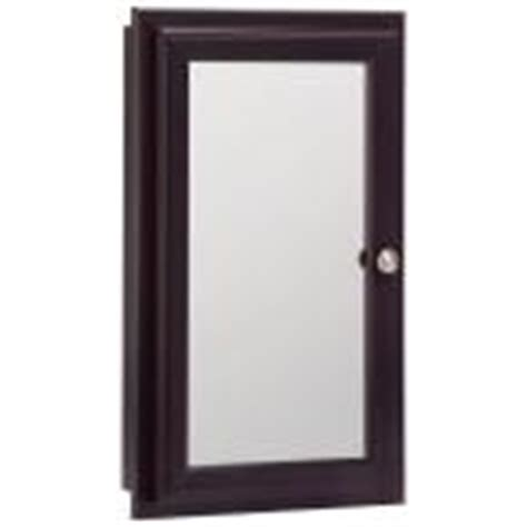 Home Depot Medicine Cabinet No Mirror by Home Depot 16 In Recessed Medicine Cabinet In Espresso