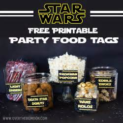 may the 4th be with you wars food free printables the big moon