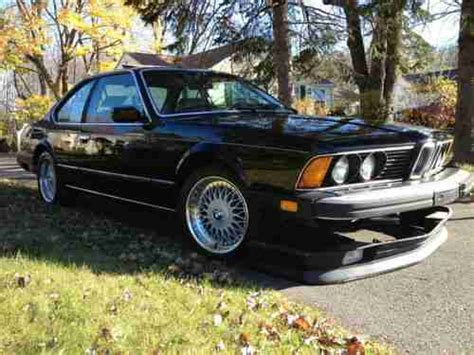 Purchase Used 1987 Bmw 635csi L6 In Windsor, Connecticut
