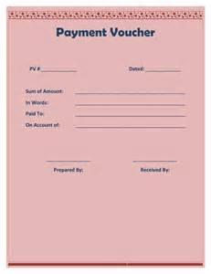 Payment Voucher Template.doc